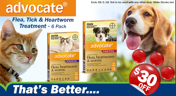 ADVOCATE – $30 OFF 6pack