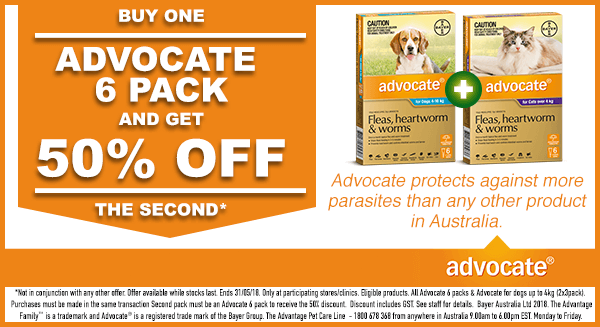 BUY ONE ADVOCATE 6 PACK AND GET 50% OFF THE SECOND