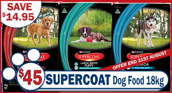 Supercoat 18kg Dog Food Special