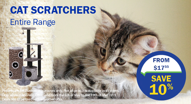 10% off Cat Scratchers