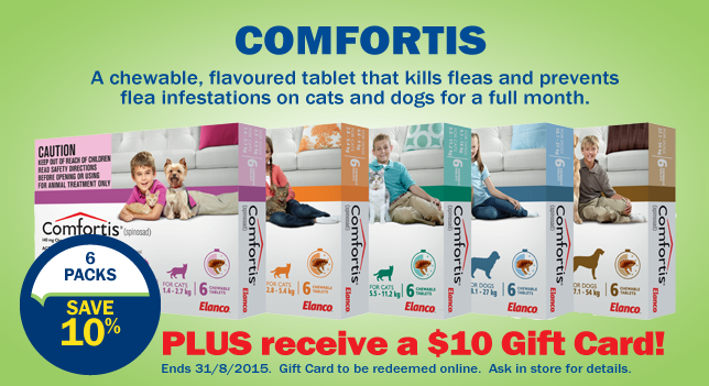 Comfortis Flea Tablet